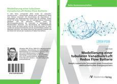 Bookcover of Modellierung einer tubulären Vanadium/Luft Redox Flow Batterie