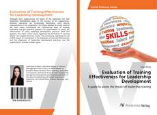 Portada del libro de Evaluation of Training Effectiveness for Leadership Development