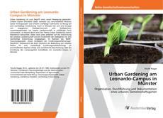 Buchcover von Urban Gardening am Leonardo-Campus in Münster