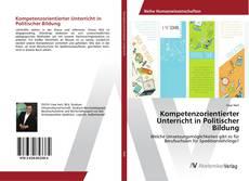 Обложка Kompetenzorientierter Unterricht in Politischer Bildung
