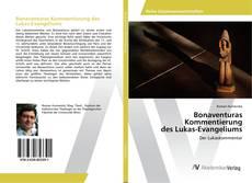 Capa do livro de Bonaventuras Kommentierung des Lukas-Evangeliums