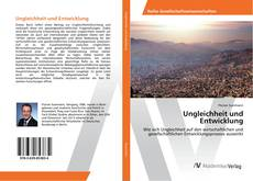 Borítókép a  Ungleichheit und Entwicklung - hoz
