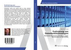 Evaluierung von Datenbanktechnologien kitap kapağı