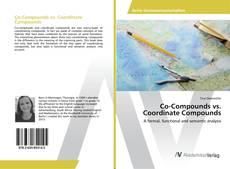 Bookcover of Co-Compounds vs. Coordinate Compounds