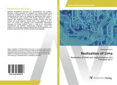Capa do livro de Realization of Lima