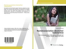 Bookcover of Numerusvariation deutscher Substantive