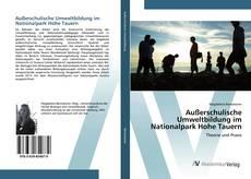 Bookcover of Außerschulische Umweltbildung im Nationalpark Hohe Tauern