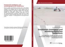 Capa do livro de Emotionale Intelligenz und autobiographisches Gedächtnis
