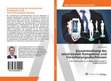 Bookcover of Zusammenhang der emotionalen Kompetenz und Versicherungsabschlüssen