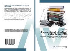 Buchcover von Das muslimische Kopftuch im Lichte der EMRK