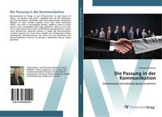 Buchcover von Die Passung in der Kommunikation
