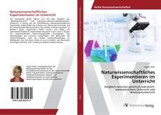 Portada del libro de Naturwissenschaftliches Experimentieren im Unterricht