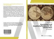 Buchcover von Geschichte und Gesellschaftslehre im 19. Jahrhundert
