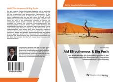 Capa do livro de Aid Effectiveness & Big Push