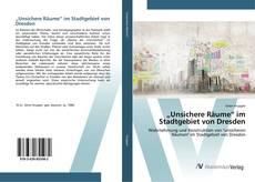 """Portada del libro de """"Unsichere Räume"""" im Stadtgebiet von Dresden"""