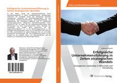 Erfolgreiche Unternehmensführung in Zeiten strategischen Wandels kitap kapağı