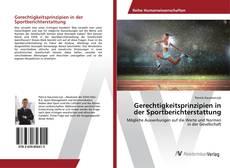 Capa do livro de Gerechtigkeitsprinzipien in der Sportberichterstattung