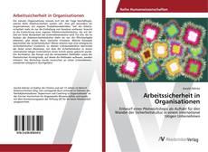 Buchcover von Arbeitssicherheit in Organisationen
