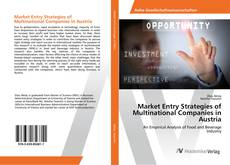 Bookcover of Market Entry Strategies of Multinational Companies in Austria