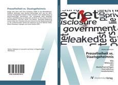Copertina di Pressefreiheit vs. Staatsgeheimnis