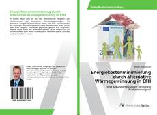 Bookcover of Energiekostenminimierung durch alternative Wärmegewinnung in EFH