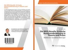 Copertina di Die WEG-Novelle: Kritische Auseinandersetzung in Theorie und Praxis