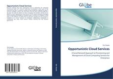Buchcover von Opportunistic Cloud Services