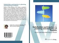 Portada del libro de Stakeholders participation in planning and designing of Projects