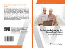 Обложка Online Marketing für die Generation 50plus