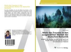 Bookcover of Motiv des Traumes in den ausgewählten Werken der deutschen Romantik
