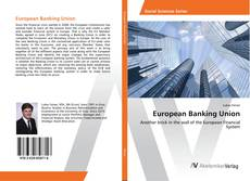 Bookcover of European Banking Union