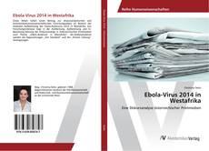 Buchcover von Ebola-Virus 2014 in Westafrika