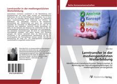 Bookcover of Lerntransfer in der mediengestützten Weiterbildung