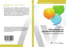 Couverture de Dolmetschen im psychosozialen Kontext