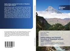Обложка Iodine status and thyroid function of Nepalese school-aged children