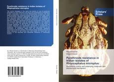 Portada del libro de Pyrethroids resistance in Indian isolates of Rhipicephalus microplus
