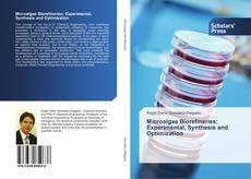 Capa do livro de Microalgae Biorefineries: Experimental, Synthesis and Optimization