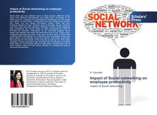 Bookcover of Impact of Social networking on employee productivity