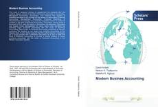 Bookcover of Modern Busines Accounting
