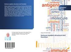 Portada del libro de Immune system structure and function