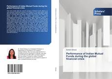 Bookcover of Performance of Indian Mutual Funds during the global financial crisis
