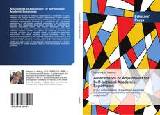 Capa do livro de Antecedents of Adjustment for Self-Initiated Academic Expatriates
