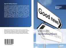 Bookcover of Agenda Setting Diaspora