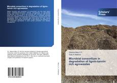 Bookcover of Microbial consortium in degradation of lignin-tannin rich agrowastes