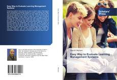 Bookcover of Easy Way to Evaluate Learning Management Systems