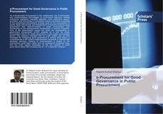 e-Procurement for Good Governance in Public Procurement kitap kapağı