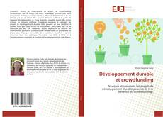 Bookcover of Développement durable et crowdfunding