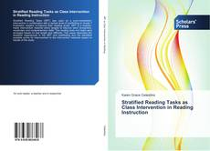 Обложка Stratified Reading Tasks as Class Intervention in Reading Instruction
