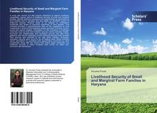 Bookcover of Livelihood Security of Small and Marginal Farm Families in Haryana