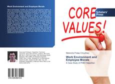 Bookcover of Work Environment and Employee Morale
